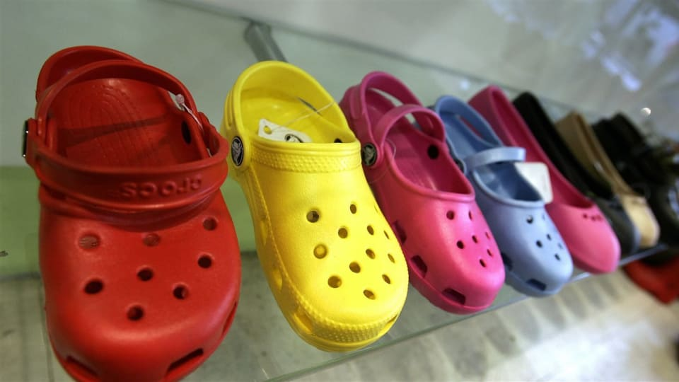 Crocs has announced that it will close its last two plants