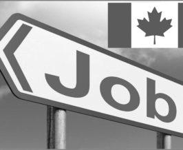 no jobs in Canada