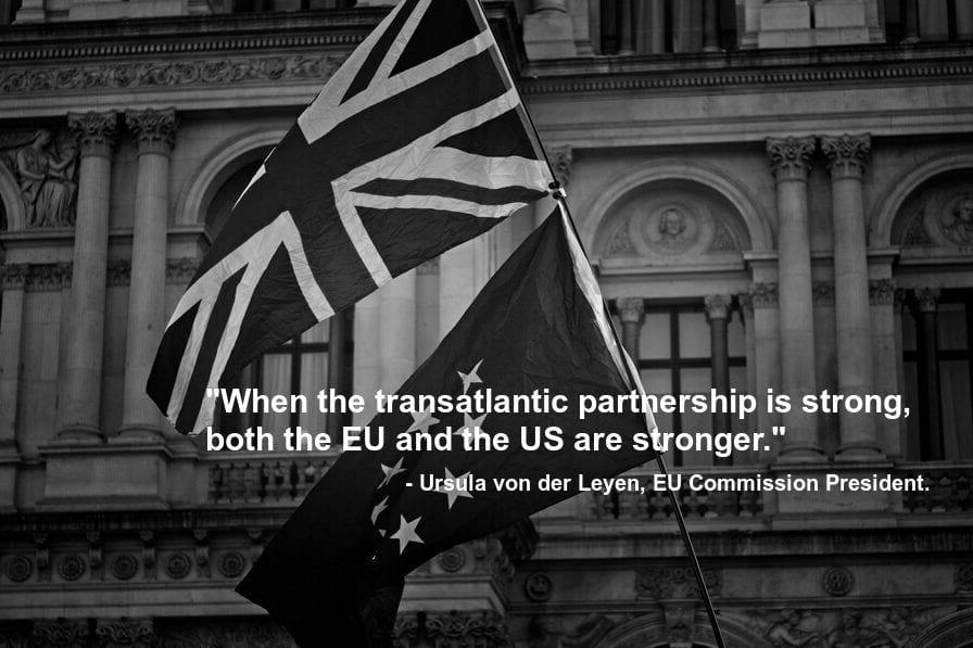 USA EU Transatlantic Partnership Makes Ties Stronger