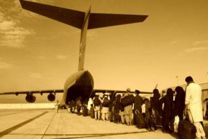 Taliban will not allow Afghans on evacuation flights, say 'not happy' with it
